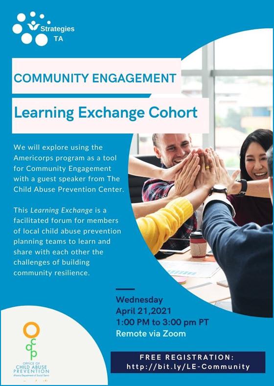 Register for Learning Exchange